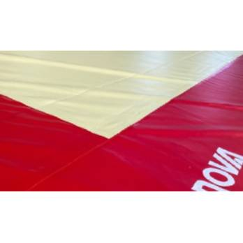 PVC Two Coloured protective Cover - 13 x 13m exercise floor Ref. 6370